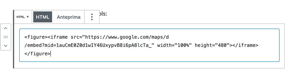 mappa google gutenberg