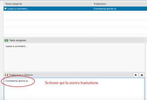 loco translate tradurre stringhe